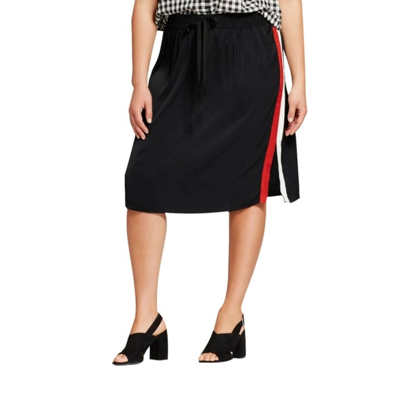 Who What Wear Dresses & Skirts - Women's Plus Size Silky Track Skirt